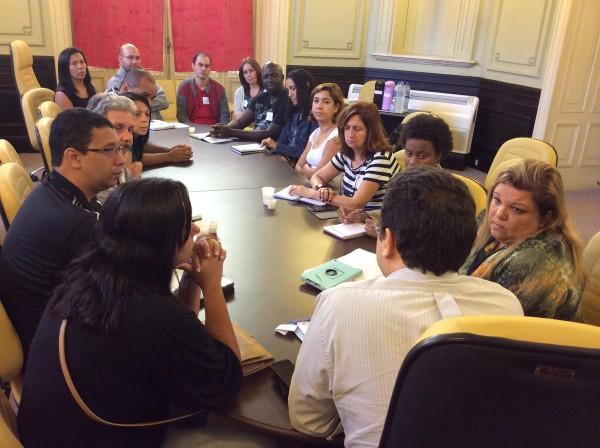 Durante quatro meses, realizamos diversas reuniões produtivas com o grupo de representantes eleito